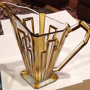 Art Deco Pitcher