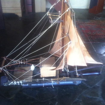 Huge Chinese Junk Model - Asian