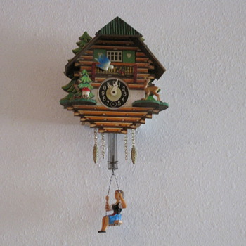 Minature German Cuckoo Clock - Clocks