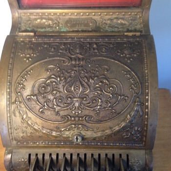 Model 313 National Cash Register  - Coin Operated