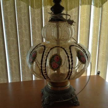Beautiful antique lamps