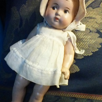 Composition, Madame Alexander Dionne Quintuplets Doll From The 1930's - Dolls