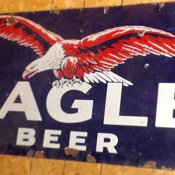 Eagle Beer Sign