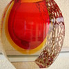 murano vase mid century modern