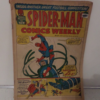 Spiderman comic - Comic Books