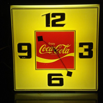 VINTAGE COCA COLA DINER CLOCKS!