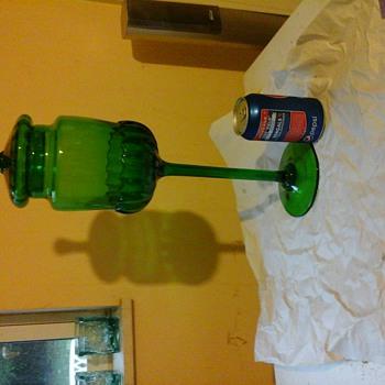 My big green monster - Art Glass