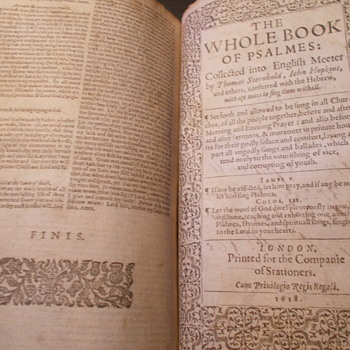 King James Bible 1618