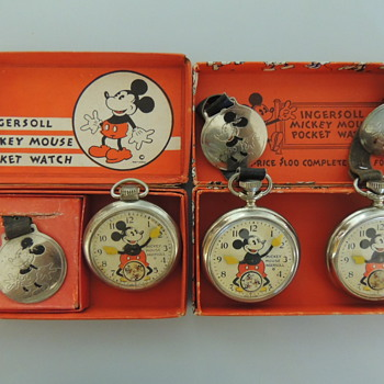 MICKEY POCKET WATCHES - Pocket Watches