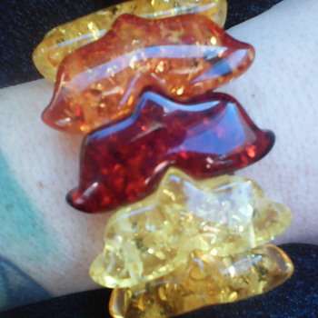 Vintage Amber? - Costume Jewelry