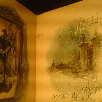 A very beautiful book Victorian or Georgian, a Christmas poem ,by Frances Ridley Havergal... - Books