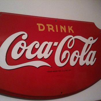 1945 Coca-Cola sign.... - Coca-Cola