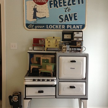 Freeze it and save sign 1950