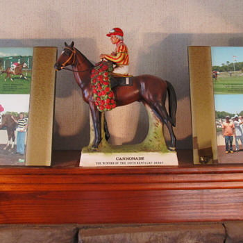 A few more pieces from my horse collection: