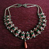 Antique Coral & Turquoise Necklace