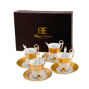 Bruno Evrard creation coffee set