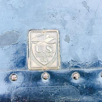 U.S. trunk co fall river massachusetts trunk