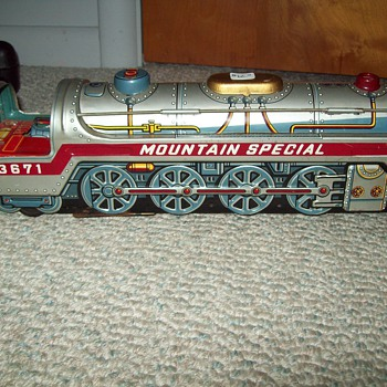 Tin Train (Marx) - Model Trains