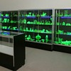 Uranium Glass Shelves