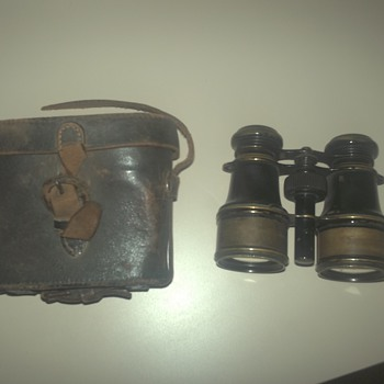 French military binoculars - Military and Wartime