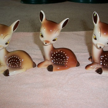 3 pc set of Fawn. - Animals