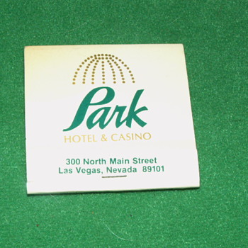 Vintage Park Hotel & Casino Matchbook ~ Las Vegas, Nevada
