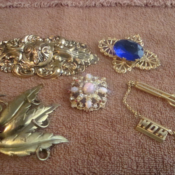 Misc. pieces - Costume Jewelry
