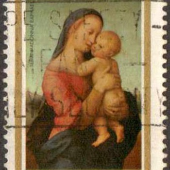"1973 - New Zealand ""Christmas"" Postage Stamp"