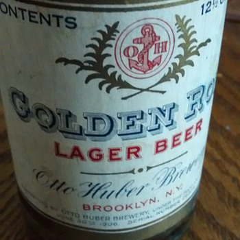 Golden Rod Otto Huber Brewery