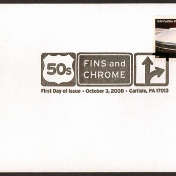 2008 - '59 Cadillac Eldorado Stamp First Day Cover