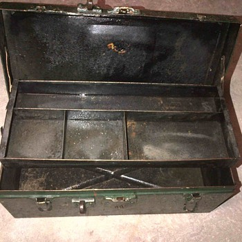 Old tool box or tackle box? - Fishing