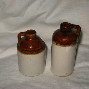 possible minature moonshine jugs?