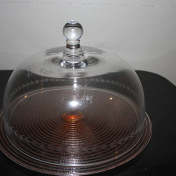 Cake Stand with Dome - Kitchen