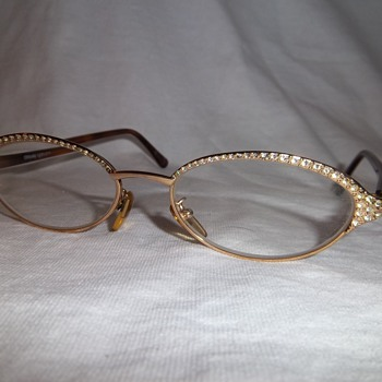 Vintage Gianna Versace glasses with Diamonds! - Accessories
