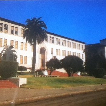 Balboa High School Postcard