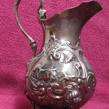 STERLING SILVER PITCHER - Silver