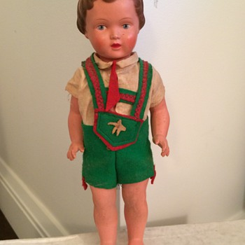 Vintage German Doll - Dolls