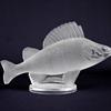 Lalique Perch Glass Fish