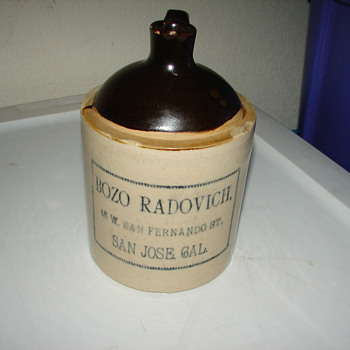 "7"" bozo radovich jug"