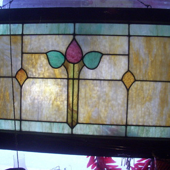Old Church stained glass window - Art Glass