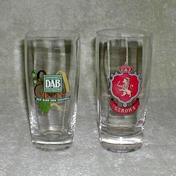 Rastal Crystal Beer Glasses - Breweriana