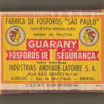 """Guarany"" Matchbox - Brazil"