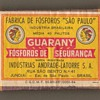 """Guarany"" Matchbox - Brazil"