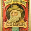 Walt Whitman cigar tin box