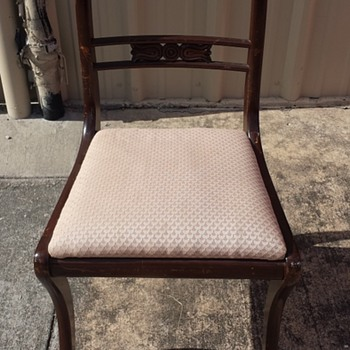 Grand Ledge Chair Co. Solid Mahogany Chairs: Age? Value?