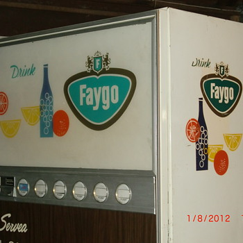 Faygo vending Machine