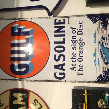 Early gulf sign