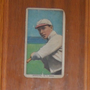 Rube Manning T-206 - Baseball