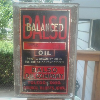 Balso Oil Can