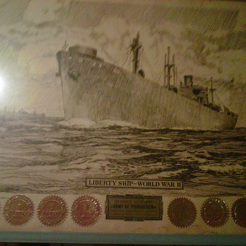 they have a lot of meaning my grandpa an grandma worket at the ship yard in freemont thats were they came from